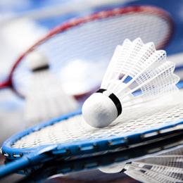 Timbres      du thème Badminton   '