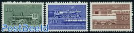 Railways centenary 3v