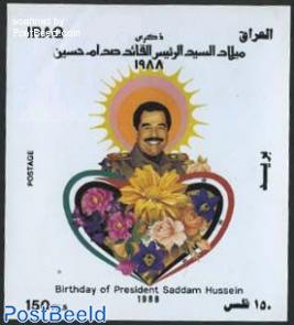 Saddam Husein 51st birthday s/s