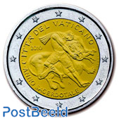 2 Euro, Vatican, Year of the priest (in blister)