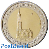 2 Euro, Germany, Hamburg D (Munich)