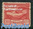 Express mail stamp with lammergeyer 1v