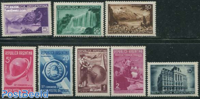 World postal congress 8v
