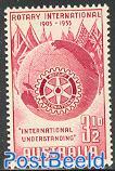 50 years Rotary international 1v