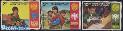 Int. year of the child 3v