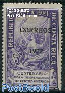 CORREOS overprint 1v