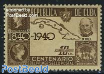Stamp centenary 1v