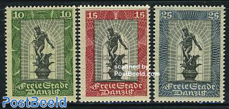 Int. philatelic exhibition 3v