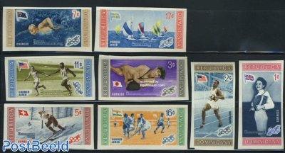 Olympic winners 8v imperforated