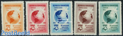 Postal union with Spain 5v