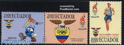 Olympic games Atlanta 3v