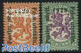 Helsinki stamp exposition 2v