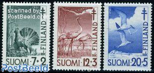 Anti Tuberculosis, birds 3v