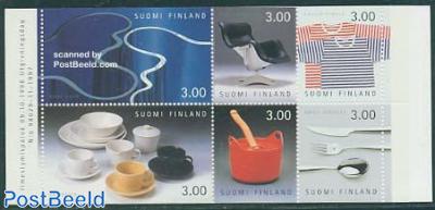 Design 6v in booklet