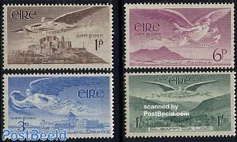 Airmail definitives 4v