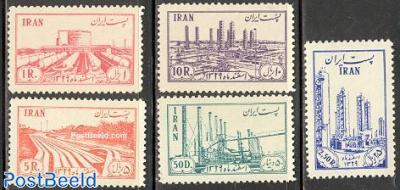 Oil raffinery 5v