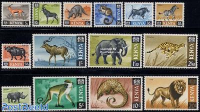 Definitives, animals 14v