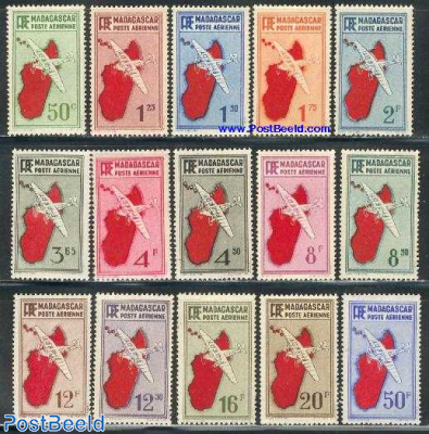 Airmail definitives 15v
