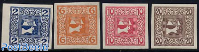 Newspaper stamps 4v