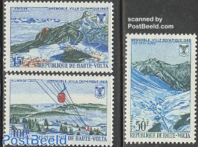 Olympic Winter Games Grenoble 3v