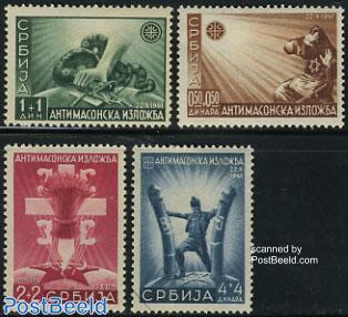 Anti freemasonry exposition 4v