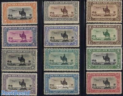 Airmail definitives 12v