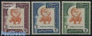 Arab postal congress 3v