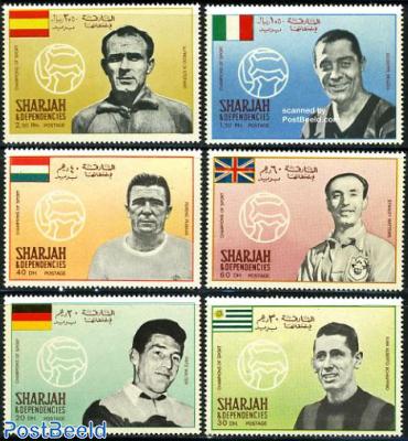 Football players 6v