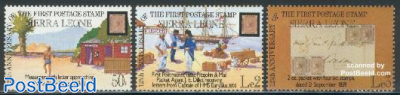125 year stamps 3v