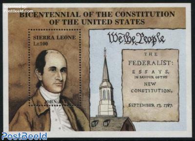 US constitution s/s