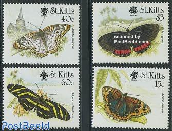 Butterflies 4v, garden expo