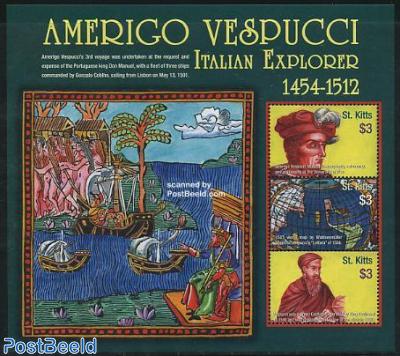 Amerigo Vespucci 3v m/s
