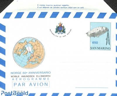 Aerogramme 650L, Amundsen