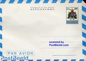 Aerogramme 200L,