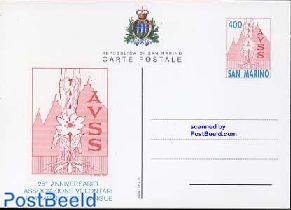 Postcard 400L, AVSS