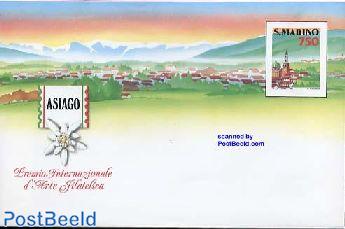 Envelope 750L, Asiago