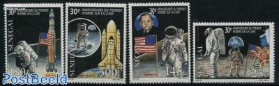 Moonlanding anniversary 4v
