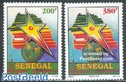Senegal wins 2v