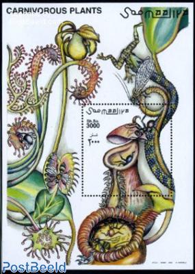 Carniforous plants s/s
