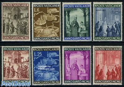 Holy year 1950 8v