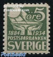 Postal saving bank 1v