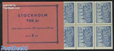 700 Years Stockholm booklet