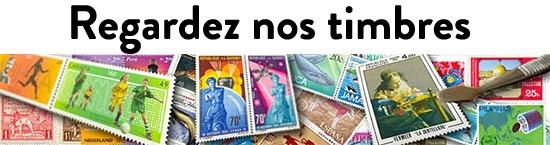 Regardez nos timbres